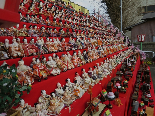 But it's not the only doll extravaganza in town – these things are EVERYWHERE